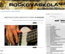 rocková škola - baskytara