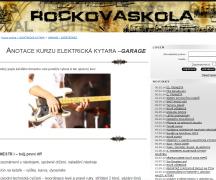 rocková škola - elektrická kytara